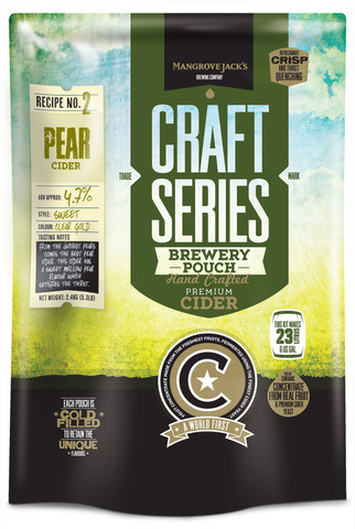 Mangrove Jack's Pear Cider Pouch