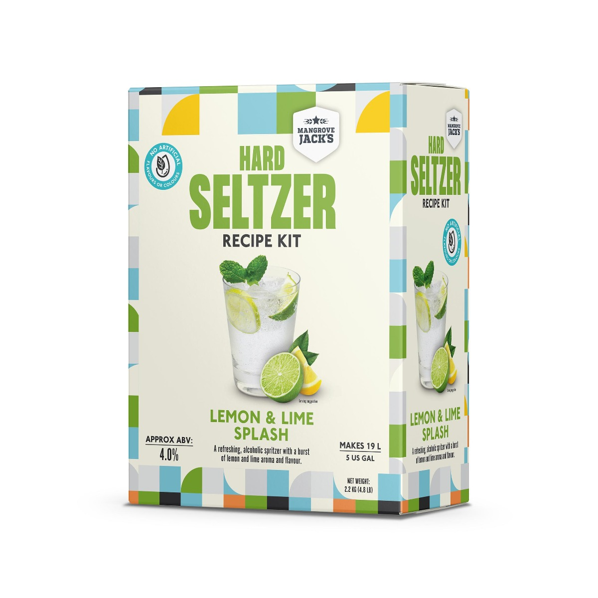 Mangrove Jack's Hard Seltzer  - Lemon & Lime