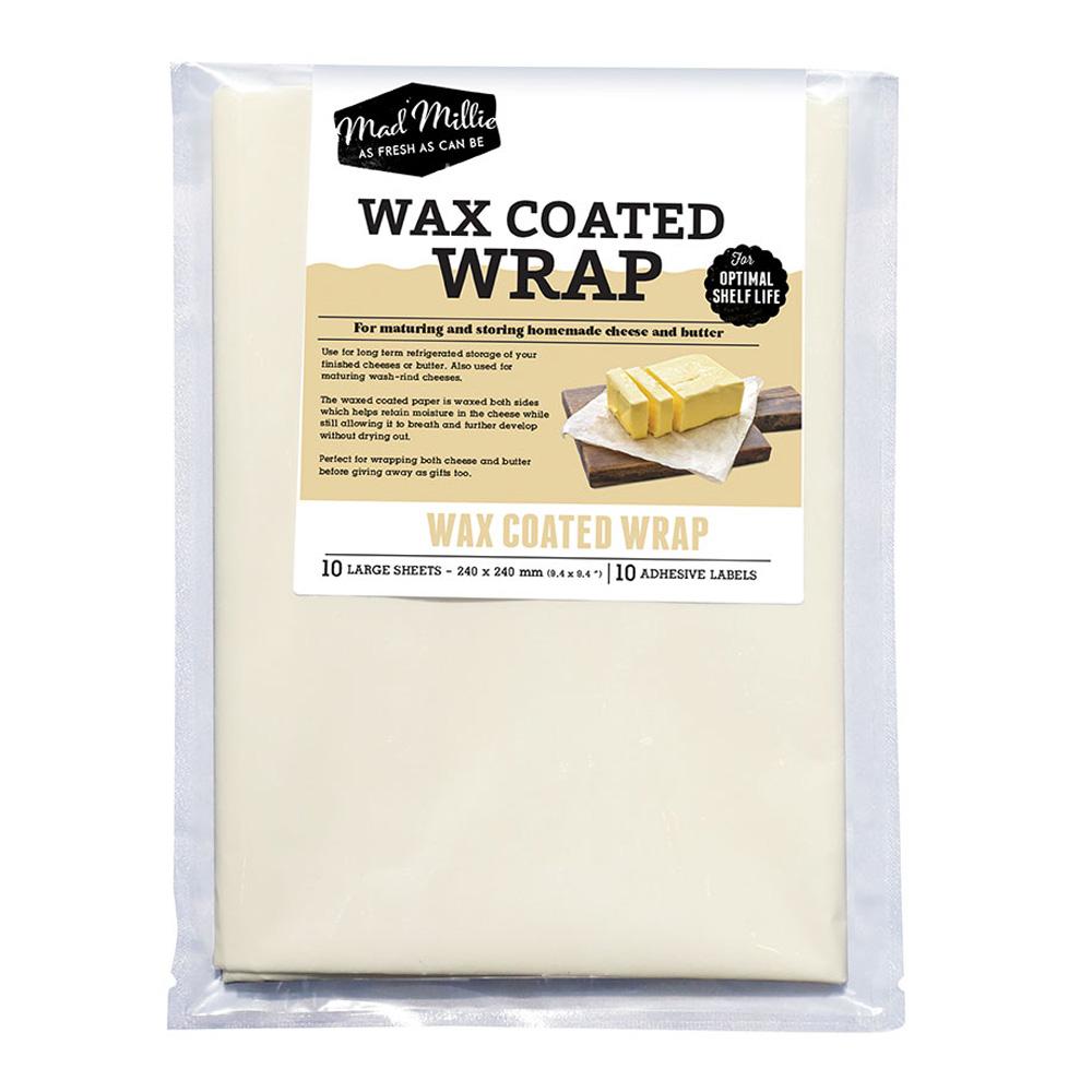 silver cheese wrap