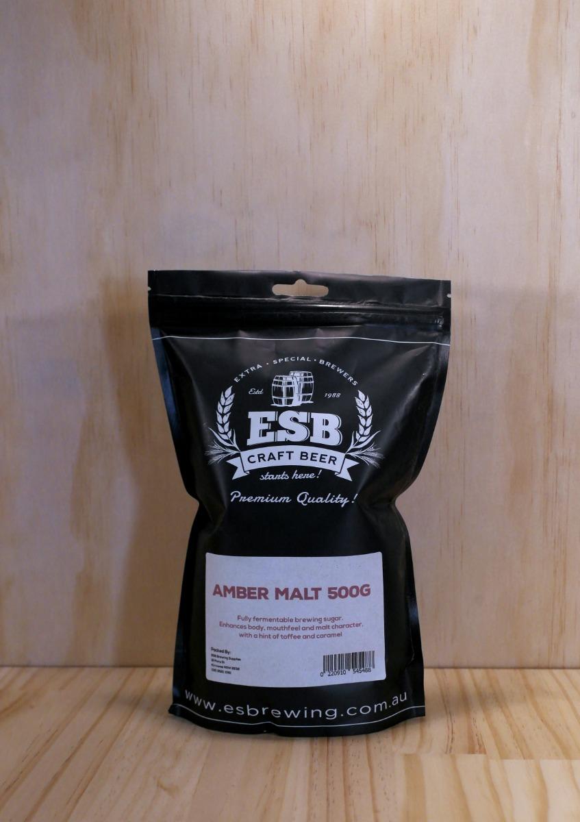 Amber dried Malt 500g