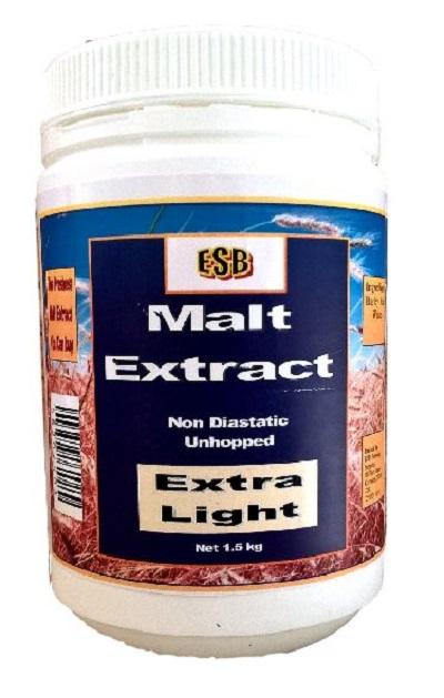 ESB Extra Light Malt Extract 1.5 kg Jar