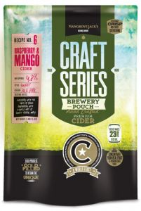 Mangrove Jack's Raspberry and Mango Cider Pouch