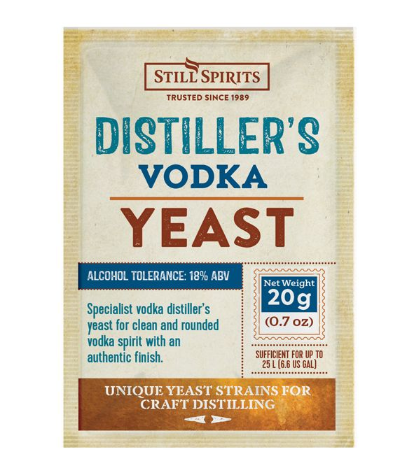 Still Spirits Distiller's Yeast Vodka