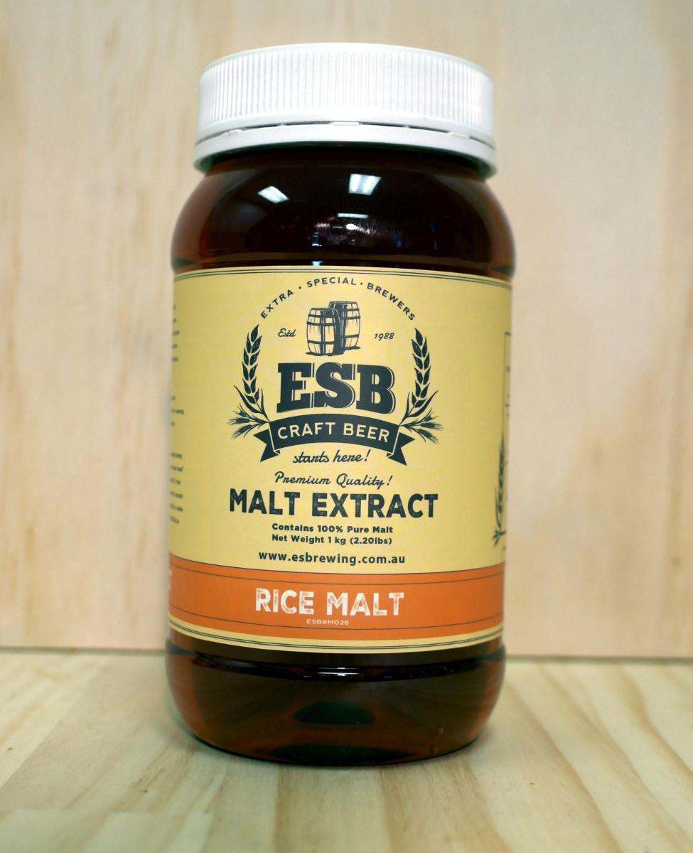 ESB Rice Malt Extract 1 kg
