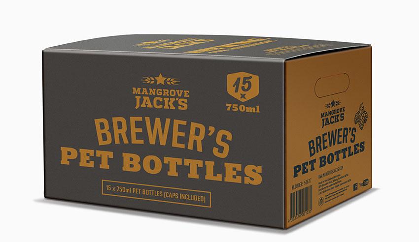 750mL PET Beer Bottle (Box 15)
