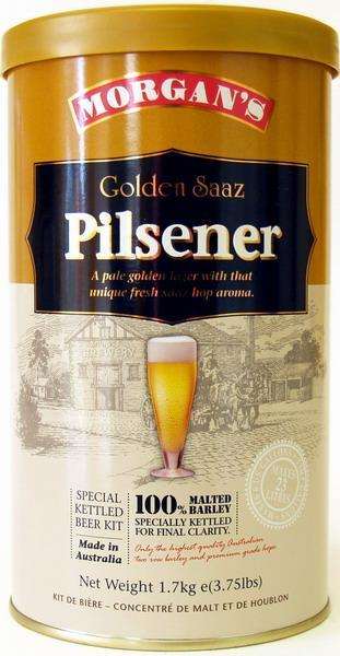 Morgans Premium Golden Saaz Pilsner