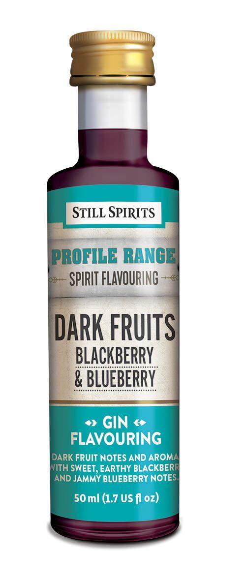 Still Spirits Gin Profile - Dark Fruits - Blackberry & Blueberry