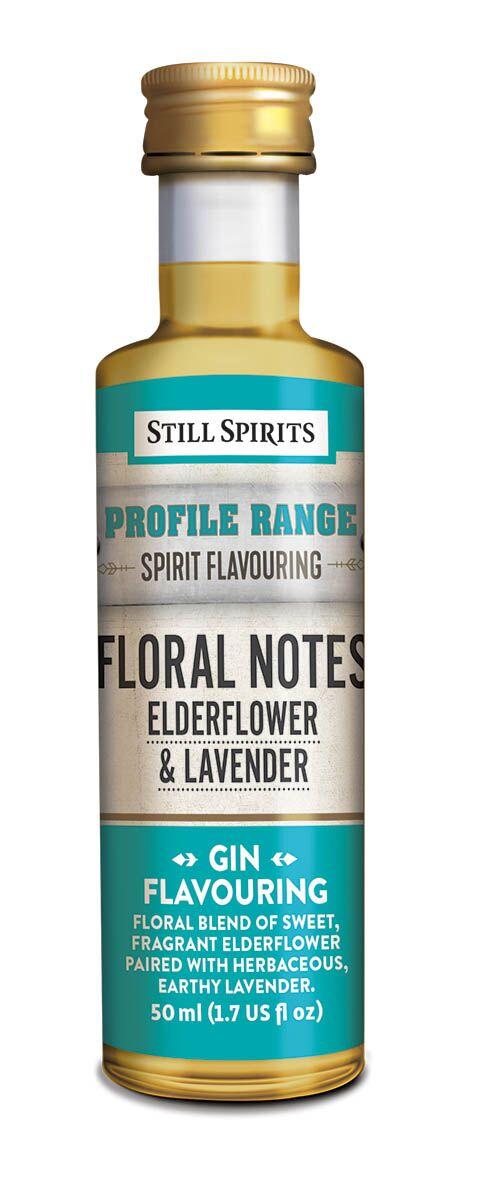 Still Spirits Gin Profile - Floral Notes - Elderflower & Lavender