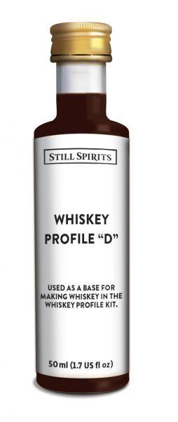 "Still Spirits Top Shelf Whisky Profile ""D"""